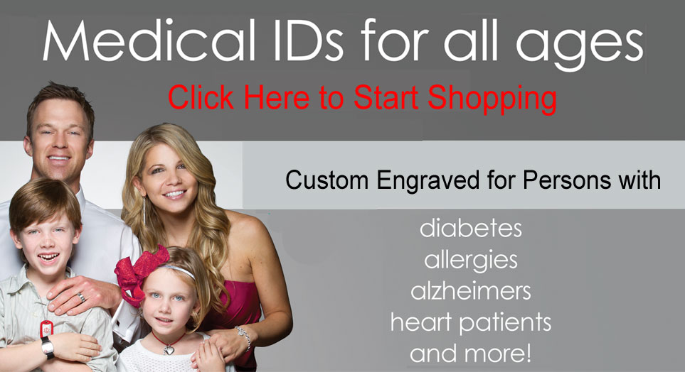 Kids and Womens Medical ID Bracelest by Hope Paige Medical ID Marketplace