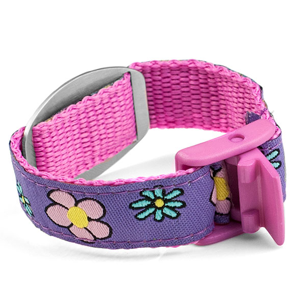 Flower Sport Strap Medical Bracelet for Kids and Adults inset 1