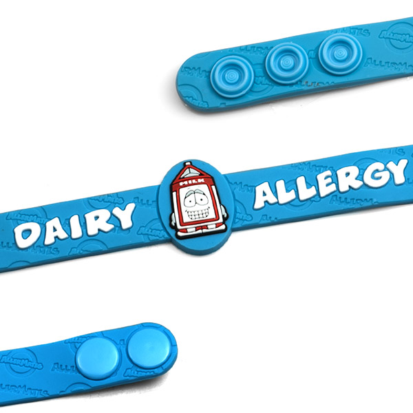 Dairy Allergy Wristband: Mr. Pint inset 1
