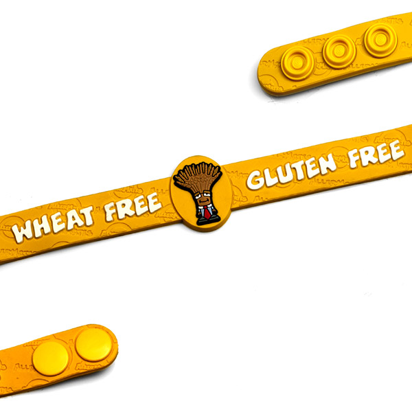 Wheat Gluten Free Wristband: Professor Wheatley - HSKU:AM10117 inset 1