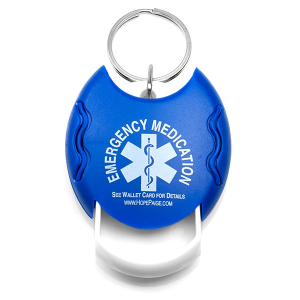 Pill Dispenser Key Tag inset 1