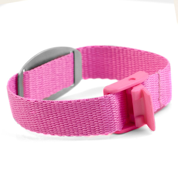 Pink Medical Bracelet for Kids or Adults inset 1