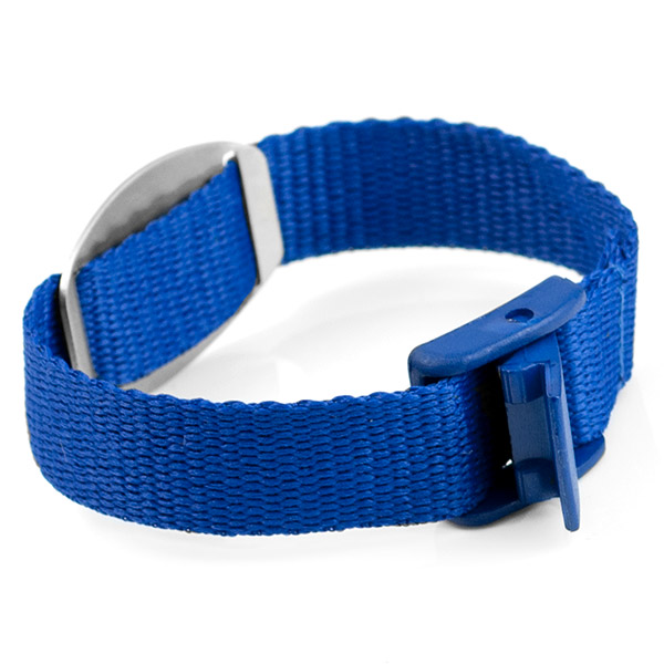 Blue Medical Bracelet For Kids and Adults inset 1