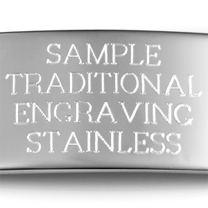 Example of traditional etched engraving