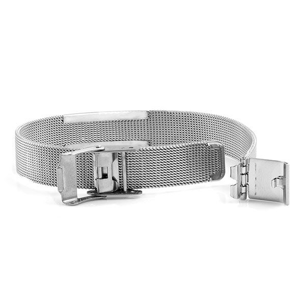Stainless Medical Womens Mesh Bracelet inset 1