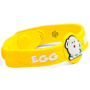 Egg Allergy Wristband: Mr. Eggie- HSKU:AM10049