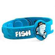 Fish Allergy Wristband: Mr. Detective Fin - HSKU:AM10063