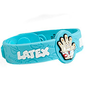 Latex Allergy Wristbad: Dr. StrangeGlove - HSKU:AM10087