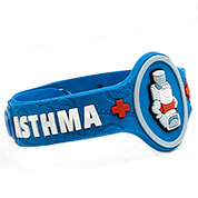 Asthma Wristband: Mr. Puffer - HSKU:AM10155