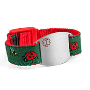 Bugs Medical Alert Bracelet for Kids and Adults