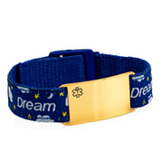 Dream Big Adjustable Medical Bracelet