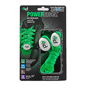 PowerLacez Green LED Lite Up Safety Shoelaces