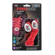 PowerLacez Red LED Light-up Safety Shoelaces