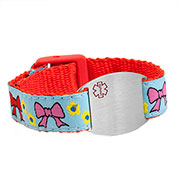 Bows Medical Bracelet for Girls and Women