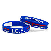 Mediband - In Case of Emergency Write on - Blue - (X-Large) - HSKU:2105-XL