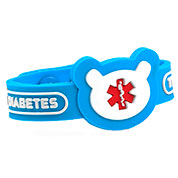 Teddy Type 1 Diabetes Snap Bracelet - HSKU:9055