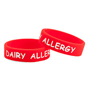 Stat Kids Dairy Allergy Bracelet - 3 Pack - (X-Small) - HSKU:9502-XS3