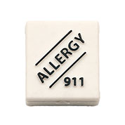 Allergy 911 Slide-On for Silicone Bands  - HSKU:A2501