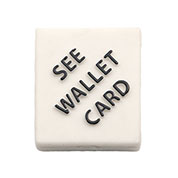 Silicone See Wallet Card Add-On - HSKU:A2503