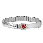 Stretch Personalized Medical ID Bracelet