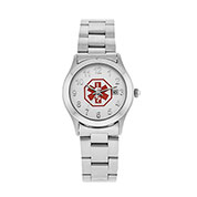 Ladies Chain Link Medical Alert Watch - HSKU:DTC-651X