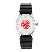 Rubber Medical ID Watch - 38mm - HSKU:DTC-301B