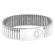 Ladies Medical Expansion Bracelet