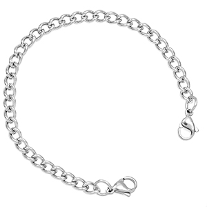 6.5 inch Chain Bracelet for Medical Tags