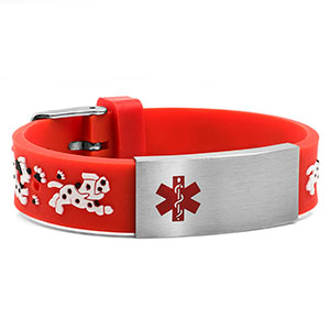 Childrens All Paws on Deck Bracelet - Non-Medical - HSKU:NM-6032