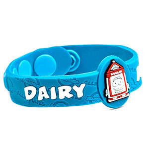 Dairy Allergy Wristband: Mr. Pint - HSKU:AM10025