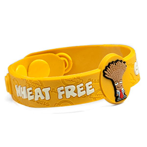 Wheat Gluten Free Wristband: Professor Wheatley - HSKU:AM10117