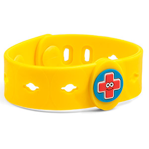 Allermates Kids Bracelet for Allergy and Medical Charms