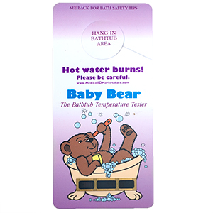 Baby Bear Hanging Bath Thermometer - HSKU:HC-108