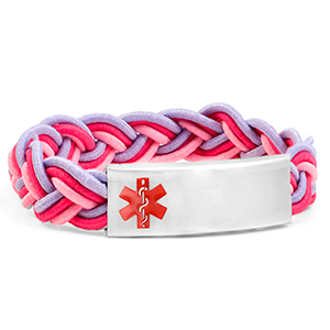 Braided Elastic Cotton Candy Bracelet - HSKU:8091