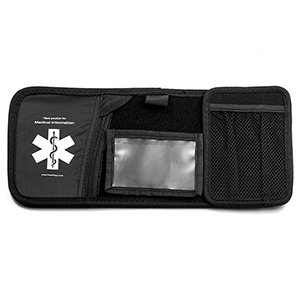 Medical ID Car Visor / Photo-Document Holder - HSKU:HC-104