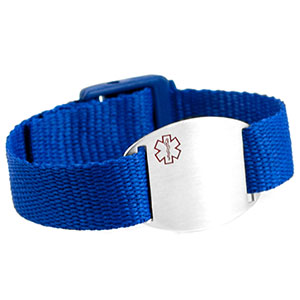 Blue Medical Bracelet For Kids and Adults