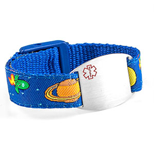Outer Space Secure Strap & Tag