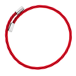 Rock Star Red Guitar String Bracelet (one size fits all) - HSKU:GSB-004