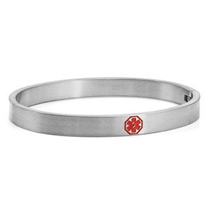 Strong Woman Bangle Medical ID Bracelet - HSKU:DTJ-46