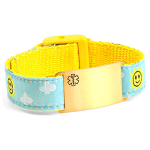 Sunny Skies Medical Strap Bracelet