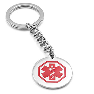 Stainless Steel Medical Key Chain - HSKU:DTJ-28